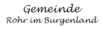Gemeinde Rohr Logo