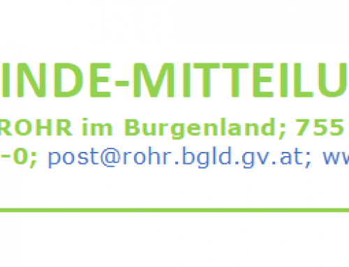 Gemeinde-Mitteilung 4 – April 2021